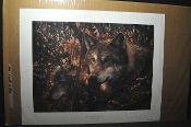 The Colors of Autumn by Collin Bogle Artist Proof Print Signed for sale