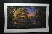 Terry Redlin Spring Morning School Children Park Print for sale