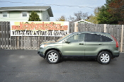 2007 Honda CRV Green Tea Metallic Used SUV Car Sale Waukegan best Auto Sales Lake County