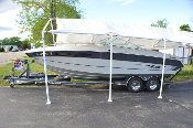 1989 Mach 1 2450 Magnum Cuddy Cabin Speed Boat Sale in Winthrop Harbor