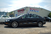 2008 Volkswagen Passat Black Used Sports Sedan Sale at Motor City Auto Sales