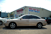 2006 Hyundai Azera Sand V6 Sedan Used Car Sale at Motor City Auto Sales
