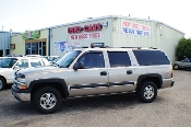 2001 Chevrolet Suburban LS Pewter 4x4 Tow SUV Used Car Sale at Motor City Auto Sales