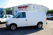 2005 Chevrolet Astro White Used Commercial Work Van Sale at Motor City Auto Sales