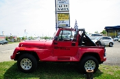 1991 Jeep Wrangler Renegade Red 4x4 Sale at Motor City Auto Sales