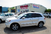 2007 Acura RDX AWD Turbo Silver Sport Wagon Sale at Motor City Auto Sales