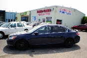 2008 Honda Accord Blue Sport Sedan Used Car Sale at Motor City Auto Sales