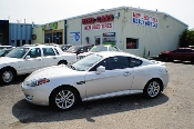 2008 Hyundai Tiberon GS Silver Sport Coupe Used Car Sale at Motor City Auto Sales