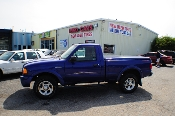 2004 Ford Ranger Edge Blue 4X2 Sport Used Truck Sale at Motor City Auto Sales