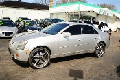 2007 Cadillac CTS 4Dr Silver Sedan used car Sale by Auto Mix Car Sales Waukegan Illinois
