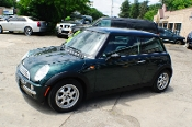 2003 Mini Cooper Green Used Sport Coupe Sale Mount Prospect Illinois