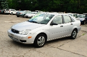 2006 Ford Focus SE Silver ZX4 Used Sedan Car Sale Mount Prospect Illinois