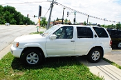 2001 Nissan Pathfinder White Used 4x4 SUV Sale Mount Prospect Illinois