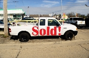 2008 Ford Ranger Ext White Pickup Truck for sale by Auto Mix Car Sales Waukegan Illinois