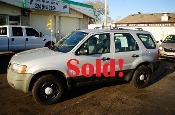2004 Ford Escape 4Dr Silver 4x2 Manual SUV for sale by Auto Mix Car Sales Waukegan Illinois