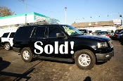 2005 Ford Expedition 4Dr Black 4x4 SUV for sale by Auto Mix Car Sales Waukegan Illinois