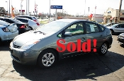 2005 Toyota Prius Hybrid 4Dr Gray Sedan sale used car by Auto Mix Car Sales Waukegan Illinois