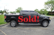 2010 Ford F150 Black 4x4 Super Crew Cab Pickup Truck Sale in Zion