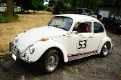 1971 Volkswagen Bug Beetle Herbie Replica Manual VW Sale used car sale Waukegan Illinois