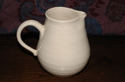 Franciscan Earthenware White Pottery Water Juice Pitcher sale