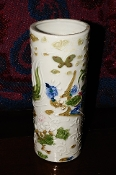 Peacock Butterfly Ceramic Pottery Flower decorative Vase Sale