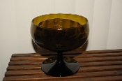 Large Amber Margarita Party Glass Barware Sale