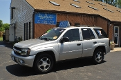2006 Chevrolet Trailblazer LS Silver Used 4x4 SUV NAC North American Credit auto sales Waukegan Illinois