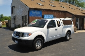 2012 Nissan Frontier White Ext Cab Truck Sale NAC North American Credit of Waukegan