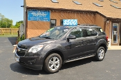 2014 Chevrolet Equinox LT Gray Used SUV Sale NAC North American Credit auto sales Waukegan Illinois