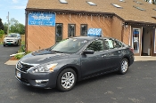 2013 Nissan Altima S Gray Used Sedan Sale NAC North American Credit auto sales Waukegan Illinois