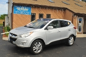 2013 Hyundai Tucson Limited Silver SUV Sale NAC North American Credit auto sales Waukegan Illinois