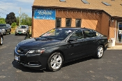 2014 Chevrolet Impala LT Gray Used Sedan Sale NAC North American Credit auto sales Waukegan Illinois