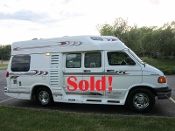 1998 Leisure Travel Freedom Wide Body Dodge Used RV Sale in Beach Park Illinois by Petite RV Camper Sales