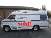 1996 Leisure Travel Freedom ll Wide Body Dodge used RV Sale in Beach Park Illinois by Petite RV Camper Sales