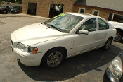 2005 Volvo S60 White Sedan Used Car Sale by Dodd's Auto Sale Beach Park Illinois