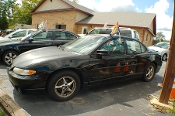 2001 Pontiac Grand Prix Black Sedan Sale by Dodd's Auto Sale Beach Park Illinois