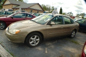 2001 Ford Taurus Sand Sedan Used Car Sale by Dodd's Auto Sale Beach Park Illinois