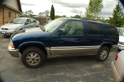 2001 GMC Jimmy SLT 4x4 Blue Used SUV Sale by Dodd's Auto Sale Beach Park Illinois