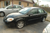 2005 Chevrolet Cobalt LS Black Sedan Used Car Sale by Dodd's Auto Sale Beach Park Illinois