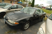 2001 Oldsmobile Alero Black Sedan Used Car Sale by Dodd's Auto Sale Beach Park Illinois
