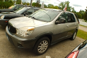 2005 Buick Rendezvous Silver Used SUV Sale by Dodd's Auto Sale Beach Park Illinois