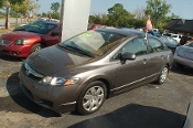 2009 Honda Civic Gray Sedan Used Car Sale by Sortos used cars Waukegan auto trucker dealer