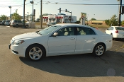 2011 Chevrolet Malibu White Sedan Used Car Sale by Sortos used cars Waukegan auto trucker dealer