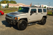2006 Hummer H3 Pewter 4x4 SUV Used Car Sale at Motor City Auto Sales