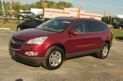2010 Chevrolet Traverse LT AWD Maroon SUV Sale at Motor City Auto Sales