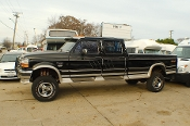 1994 Ford F350 Diesel Black 4x4 Crew Cab Pickup Truck Sale in Beach Park Illinois by Petite RV Camper Sales