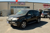 2007 Acura MDX Black SUV Sale at Motor City Auto Sales in Waukegan