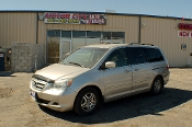 2005 Honda Odyssey EX Silver Mini Van Sale at Motor City Auto Sales