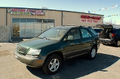 2001 Lexus RX300 Green Used SUV Sale at Motor City Auto Sales