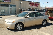 2007 Toyota Camry LE Beige Sedan Used Car Sale at Motor City Auto Sales of Waukegan